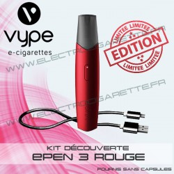 Coffret Simple ePen 3 Rouge - Vype