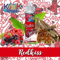 Redkiss - Kubik Eliquid - ZHC 50 ml