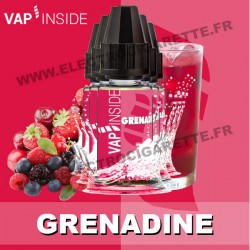 Pack de 5 x Grenadine - Vap Inside - 10 ml