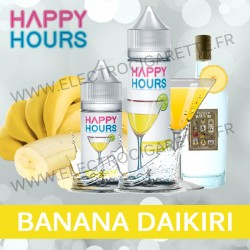 Happy Hours - Banana Daikiri - ZHC 50ml ou Concentré DiY 30ml