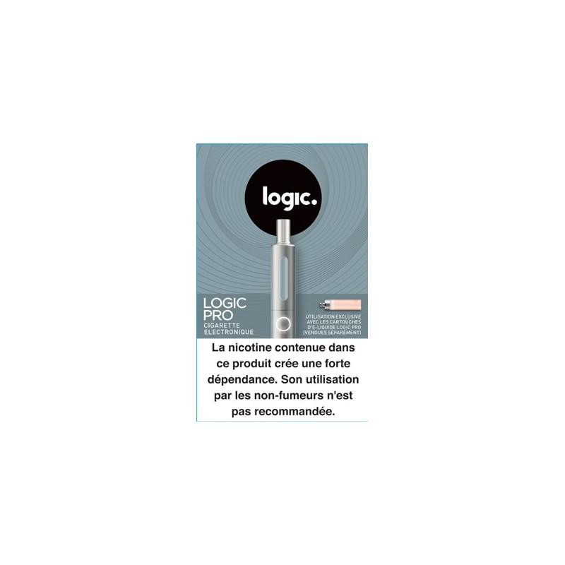 Cigarette electronique Logic Pro gris
