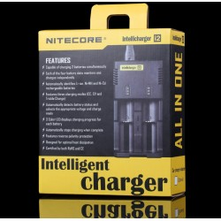 Chargeur Intellicharger i2 Nitecore - Boite