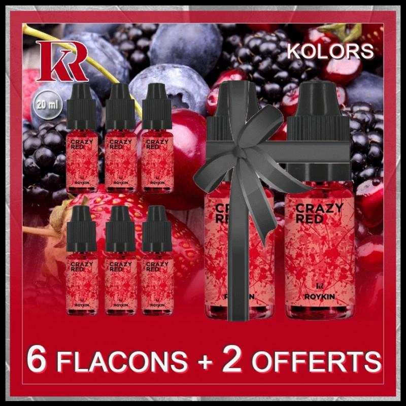 Pack 6 flacons + 2 offerts - Roykin Kolors
