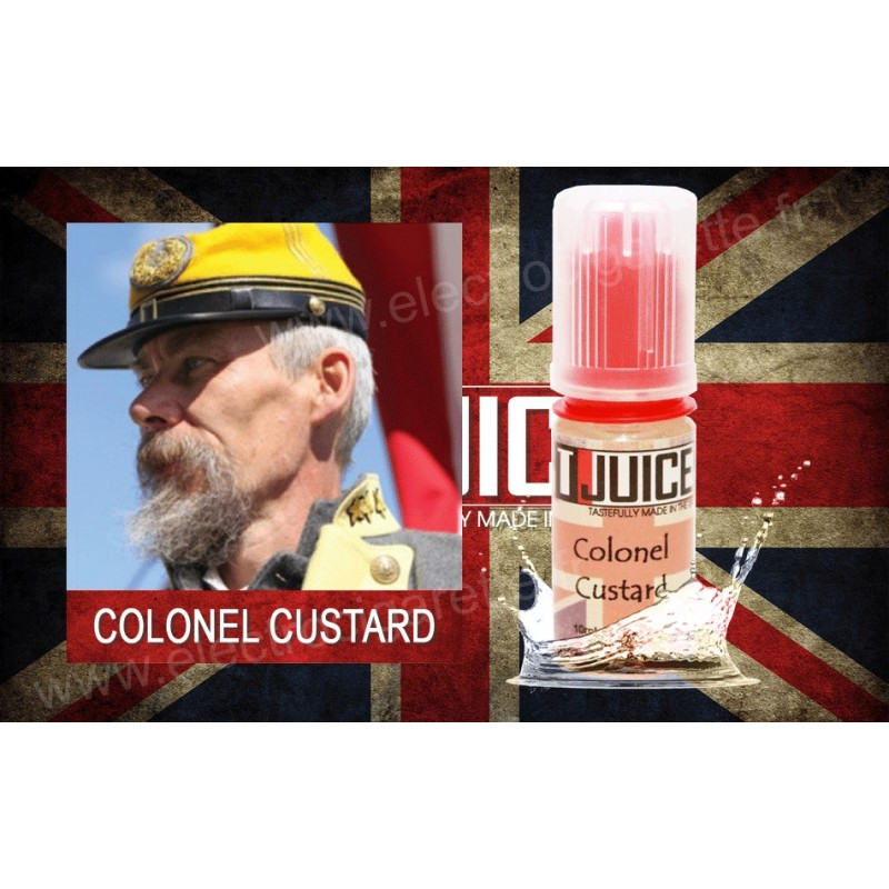 Colonel Custard - T-Juice