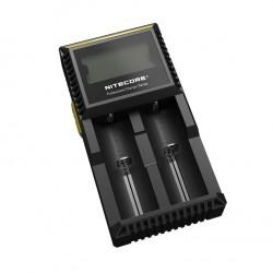 Chargeur Digicharger D2 Nitecore - Ecran LCD