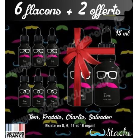 Pack de 6 flacons + 2 Offerts - Stache - 15 ml