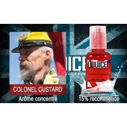 Colonel Custard - T-Juice - Arôme concentré