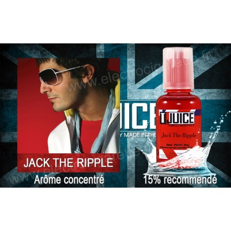 Jack The Ripple - T-Juice - Arôme concentré