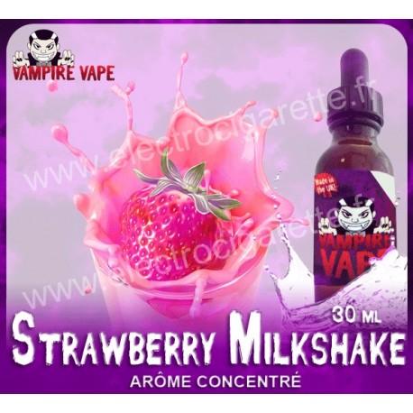 Strawberry Milkshake - Vampire Vape - Arôme concentré
