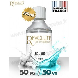 Base 50% PG / 50% VG - Revolute - 275 ml