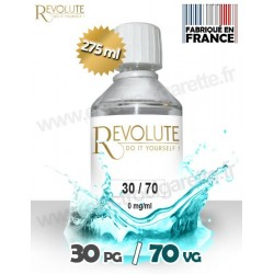 Base 30% PG / 70% VG - Revolute - 275 ml