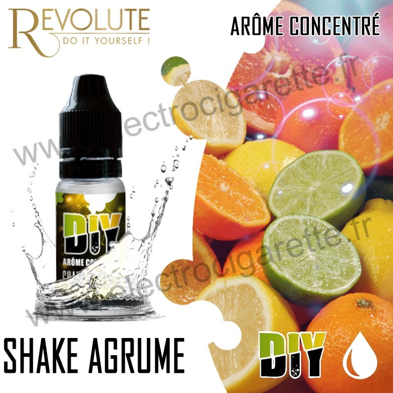Shake Agrume - REVOLUTE - Arôme concentré