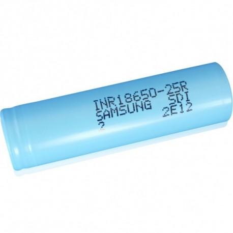 Accus INR 18650 25R - 2500 mAh - Samsung