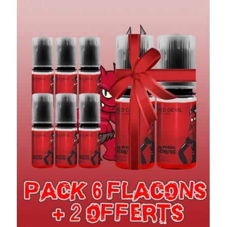 Pack 6 flacons + 2 offerts Red Devil - Avap