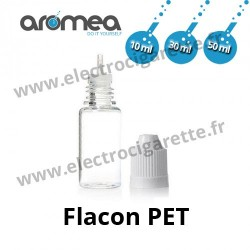 Flacon PET 10, 30, 50 ml - Aromea