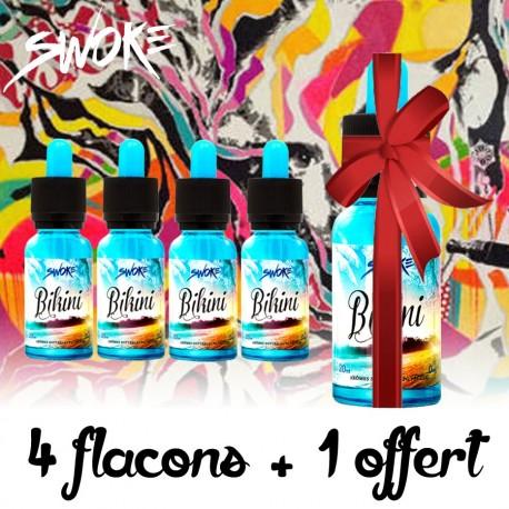 Pack de 4 flacons + 1 offert - Swoke