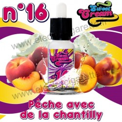 Sweet Cream N°16 - EliquidFrance