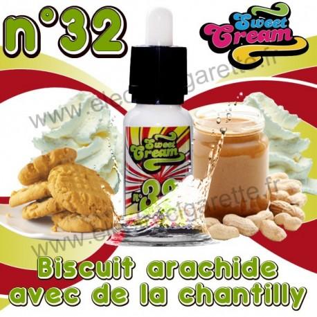 Sweet Cream N°32 - EliquidFrance