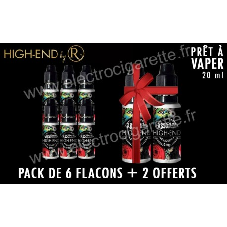Pack de 6 flacons + 2 offerts - High-End de REVOLUTE