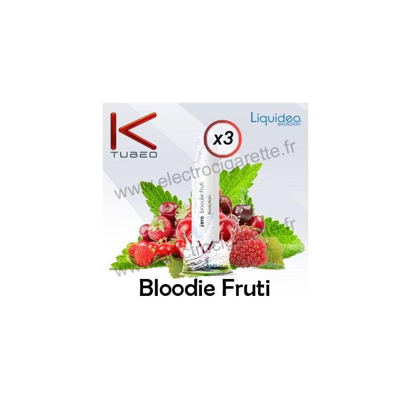 Bloodie Fruti - Liquideo - Ktubeo - Blanche