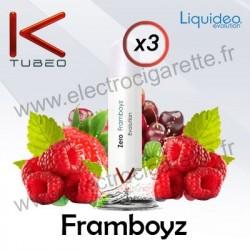 Framboyz - Liquideo - Ktubeo - Blanche