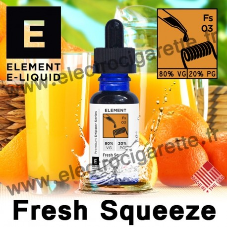 Fresh Squeeze - Element E-Liquid