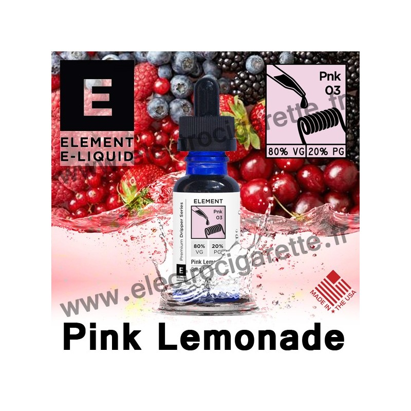 Pink Lemonade - Element E-Liquid