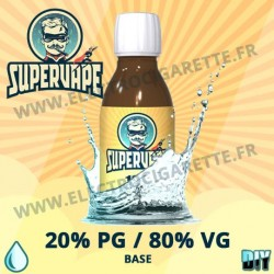 Base 20% PG / 80% VG - Supervape
