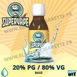 Base 20% PG / 80% VG - Supervape