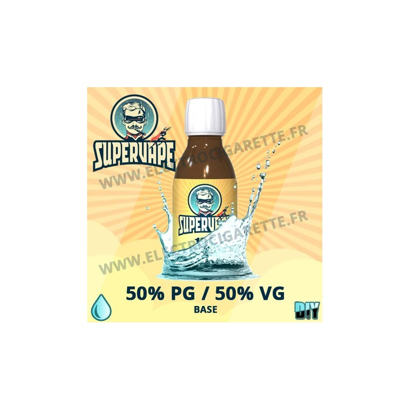 Base 50% PG / 50% VG - Supervape