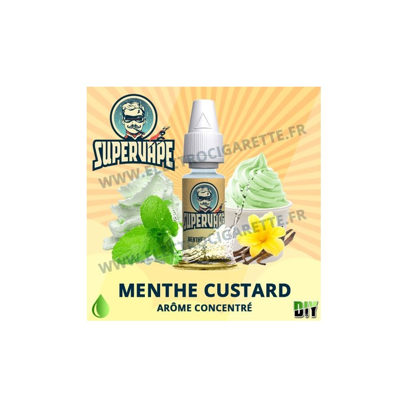 Menthe Custard - Supervape