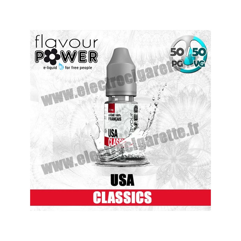 USA Classics - Premium - 50/50 - Flavour Power