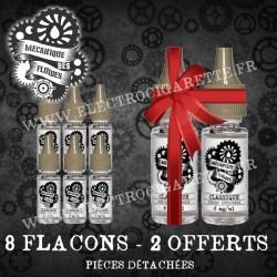 Pack 8 flacons - 2 Offerts - Mecanique des Fluides
