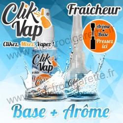 Fraîcheur - Base et Arôme - ClikVap