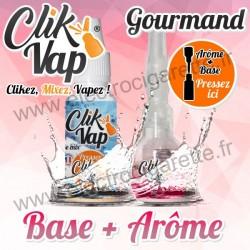 Gourmand - Base et Arôme - ClikVap