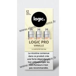Pack de 3 x Cartouche Vanille Blanche - Logic Pro