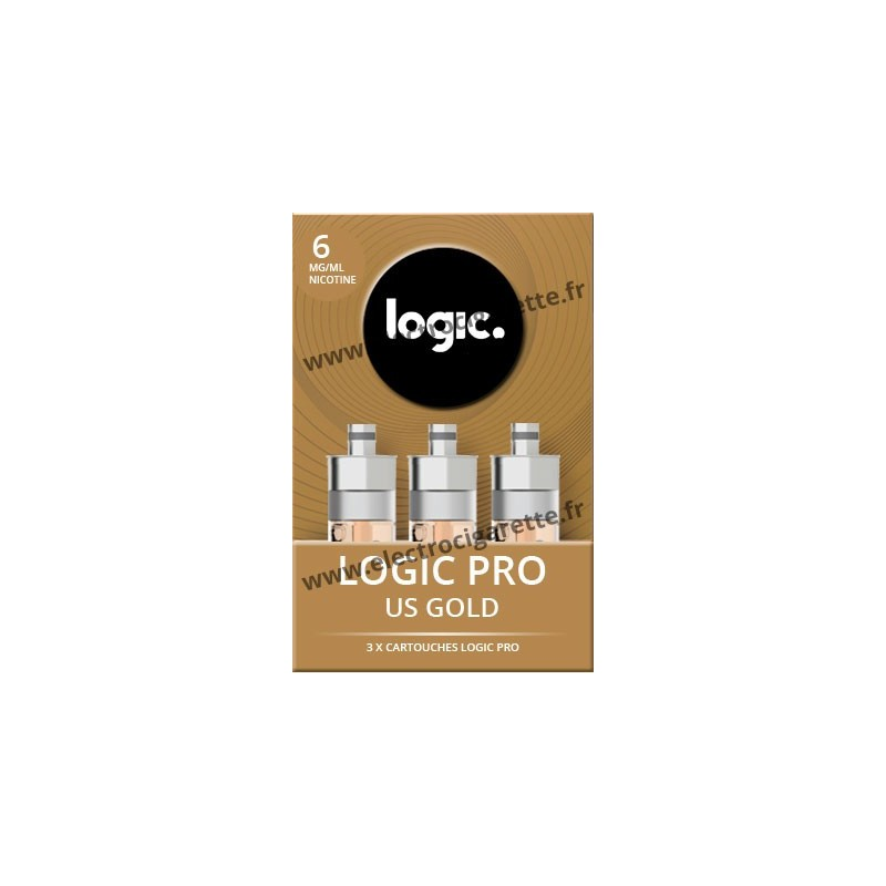 Cartouche US Gold Tabac Blond - Logic Pro