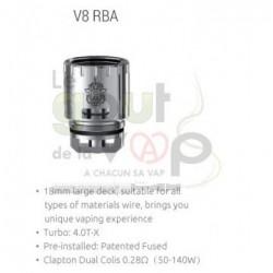 Plateau V8 RBA TFV8 SMOK