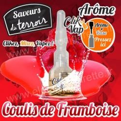 Coulis de Framboise - Terroir - ClikVap