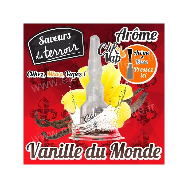 Vanille du Monde - Terroir - ClikVap