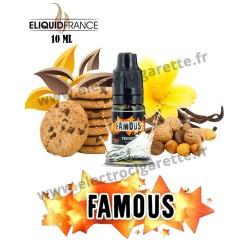 Famous - Premium - 10 ml - EliquidFrance