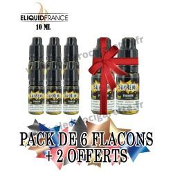 Pack de 6 flacons + 2 offerts - 10 ml - Premium - EliquidFrance