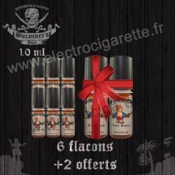 Pack de 6 flacons + 2 offerts - 10 ml - Buccaneer's Juice