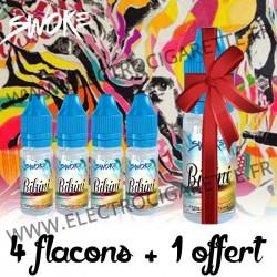 Pack de 4 flacons + 1 offert - 10 ml - Swoke