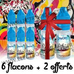 Pack de 6 flacons + 2 offerts - 10 ml - Swoke