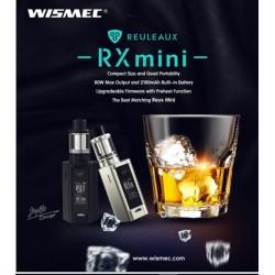 KIT RX MINI 80W + REUX 2ML WISMEC NOIR
