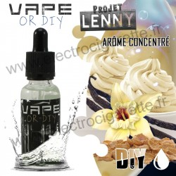 Projet Lenny - Vape Or DiY - Revolute - Arome Concentré