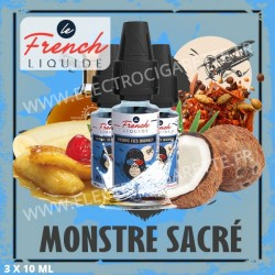 Monstre Sacré par Le French Liquide 3 x 10ml