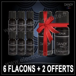 Pack de 6 flacons + 2 offerts - Dandy - 10 ml