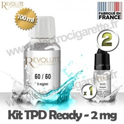Kit TPD Ready DiY 2 mg - 50% PG / 50% VG - Revolute